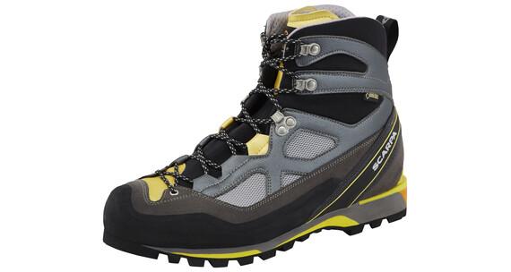 Scarpa Rebel Lite GTX Shoes Men gray/lemon